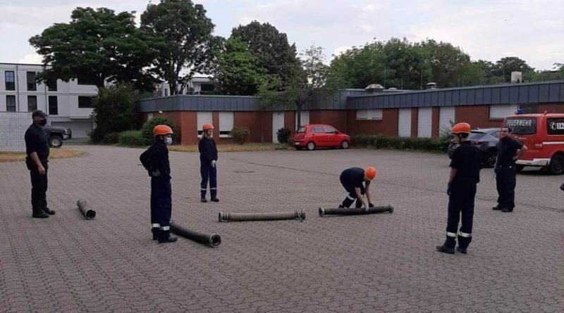 Jugendfeuerwehr Dienst wieder gestartet